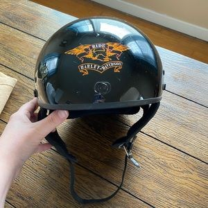 Harley Davidson Motorcycle Riding Helmet